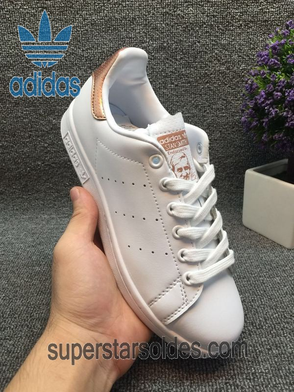 adidas femme stan smith rose gold