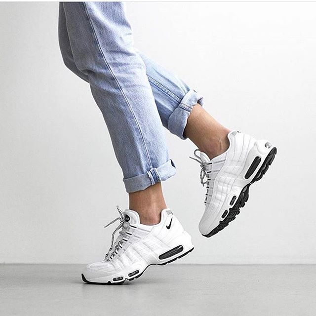 air max 95 blanche fille